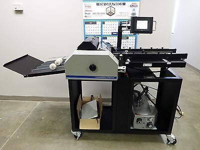 USED Graphic Whizard CreaseMaster Platinum Impact Die RotaryCreaser Programmable