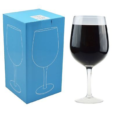 Giant Wine Party Cocktail Glass. Holds a Whole Bottle Of Wine - 750ml