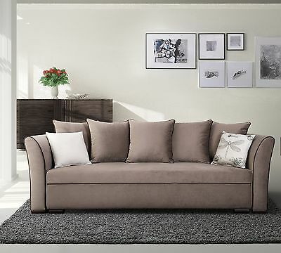 big sofa schlafsofa bigsofa garnitur kunstleder grau schwarz stoff neu 19491 eur 499 00. Black Bedroom Furniture Sets. Home Design Ideas