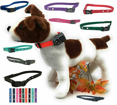 "PETSAFE Compatible Electric Fence Nylon Replacement Dog Strap 3/4"" 2 Hole 1.25"""