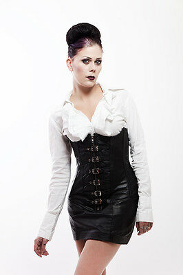 Rindleder Unterbrust Korsett underbust leather Corset