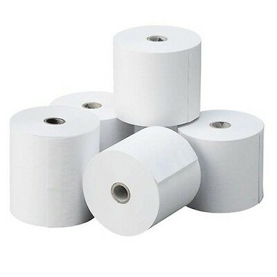 10-500 - 57x40mm Rolls, Thermal Till Rolls Chip & Pin PDQ From £0.14p Each !