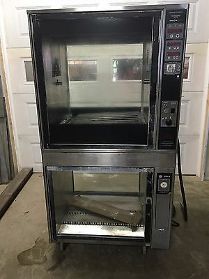 Henny Penny Scr-8 Electric Rotisserie Convection Oven - Spits Included