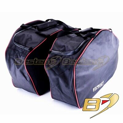 Victory Cross Roads Cross Country Saddlebag Side Case Liner Liners Bags, Black