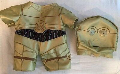 build a bear c3PO star was outfit costume