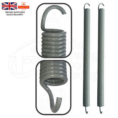NEW GREY / SILVER Henderson Retractable Dolphin Garage Door Springs Spare Parts