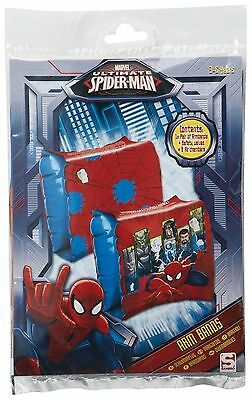 Marvel Spiderman Inflatable boys Swim Arm Bands 3 - 6 years  Learn Swimming