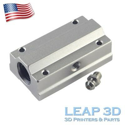 SCS8LUU SC8LUU Linear Bearing Busing for 8mm Shafts CNC Router Mill Linear Stage