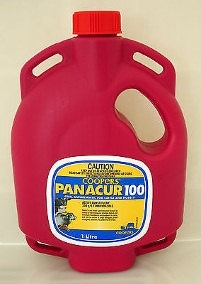 COOPERS PANACUR 100 ORAL DRENCH FOR CATTLE AND HORSES 1 Litre