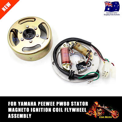 For PW80 PY80 PEEWEE 80 STATOR COIL PLATE FOR YAMAHA MAGNETO ENGINE JS80PY JS