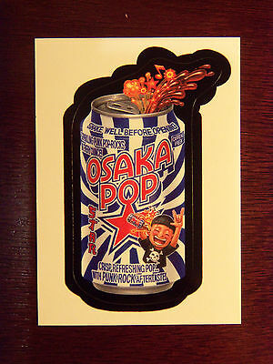 TOPPS Wacky Packages 2006 OSAKA POP Bonus Sticker & CD LIMITED EDITION Rare-HTF