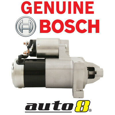 Genuine Bosch Starter Motor For Holden Commodore 5.7L V8 (LS1) VT VX VY VZ GEN3