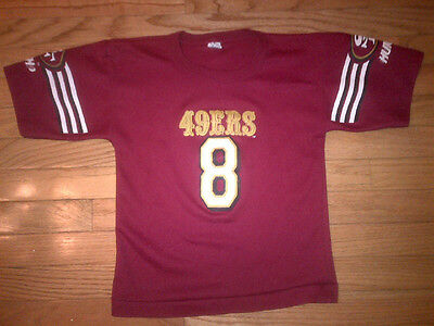 SAN FRANCISCO 49ERS NFL Vintage Hutch Jersey Youth Size M -  9.99 ... ee46155be