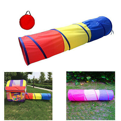 Play Tunnel Toy Tent Children Pop-up Tube Discovery Pipeline Creeping Kids Toy