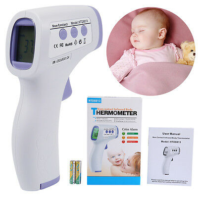 Digital Infrared IR Baby Thermometer LCD Temperature Non-Contact Point 5-40° C