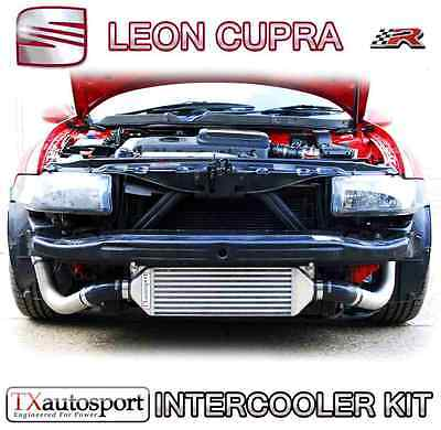 Seat Leon Cupra R Large Capacity Lower Front Mount Intercooler Kit - Blue