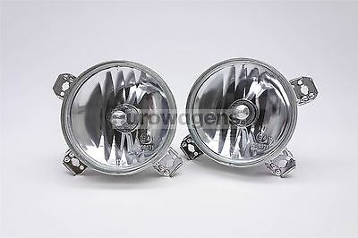 VW Golf MK2 Crystal Clear Front Spot Lights Lamps Set Pair Driver Passenger