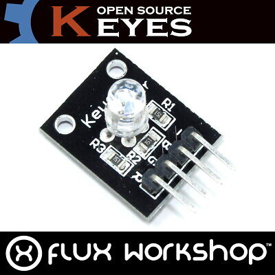 Keyes RGB LED Module 5V KY-016 Red Blue Arduino Raspberry Pi PWM Flux Workshop