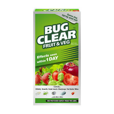 Scotts Bug Clear Fruit and Veg Insecticide 250ml rrp £7.99 OUR PRICE £6.40