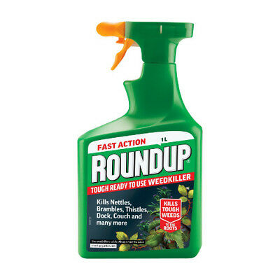 NEW Fast Acting Roundup Tough Weedkiller RTU 1 Litre