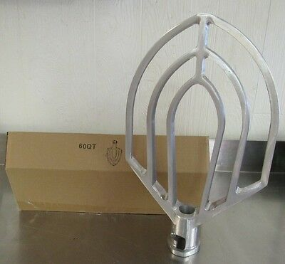 New 60 qt Beater Attachment for Hobart Mixers