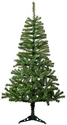 5ft (150cm) Artificial Pine Traditional Christmas / Xmas Tree With Stand