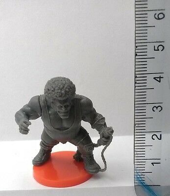 30mm Scale Miniatures: Ogre with Afro  x 1 Grey Plastic