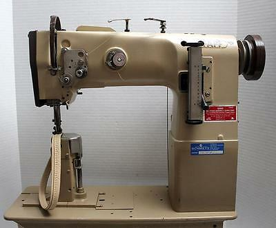 PFAFF 40 POST Bed Walking Foot Reverse Industrial Sewing Machine Custom Pfaff Walking Foot Sewing Machine