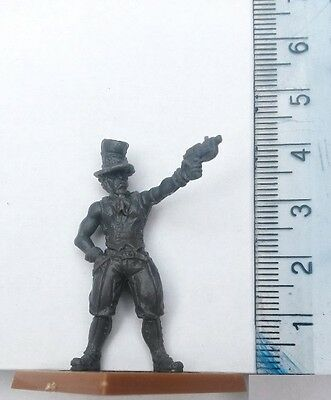 30mm Scale Miniatures: Steampunk Male  x 1 Grey Plastic