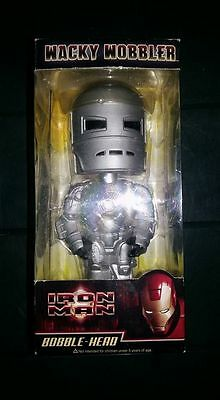 Iron Man Bobble Head Wacky Wobbler   Introvabile New