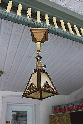 Antique Mission Or Art & Craft Ceiling Porch Light Fixture , Pendant Light
