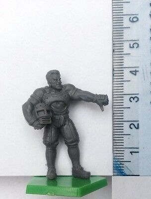 30mm Scale Miniatures: Flesh Golem T-Bone Star  x 1 Grey Plastic