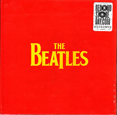"""4 x 7"""" BOX the BEATLES ticket to ride VINYL VINILO 45 RECORD STORE DAY 2012 RSD"""