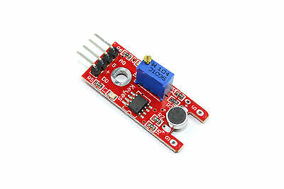 Keyes Sound Detection Module KY-030 38 Arduino Raspberry PI 20cm  Flux Workshop