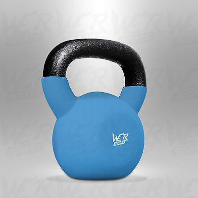 4KG Kettlebell With Rubber Sleeve Home Gym Fitness Exercise Kettlebells Training
