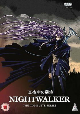 Nightwalker Complete Series Collection DVD New & Sealed ANIME Region 2 Manga