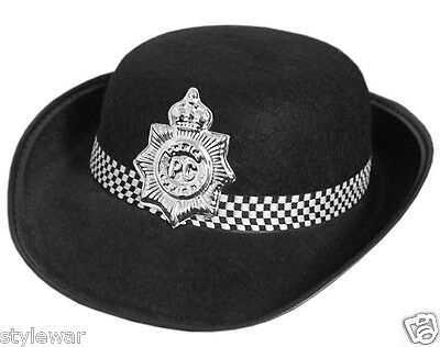 WPC Kids Children Gilrs Boys Police Hat Police Book Day Fancy Dress Costume Hats