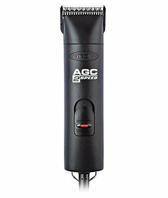 Andis 22340 ProClip AGC2 2 Speed Professional Animal Clipper Black