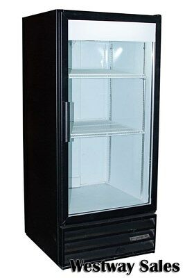 Beverage Air MT-10 10 Cu Ft Glass Door Cooler Merchandiser Display Refrigerator
