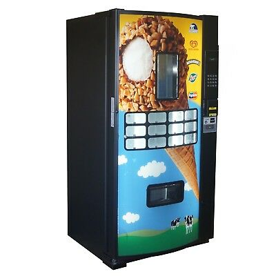 Fastcorp Ice Cream Frozen Ice Cream Vending Machine Model FRI-Z400 Reconditioned