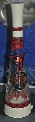 Gilbeys Spey Royal Scotch Musical Whiskey Bottle Works Great Empty