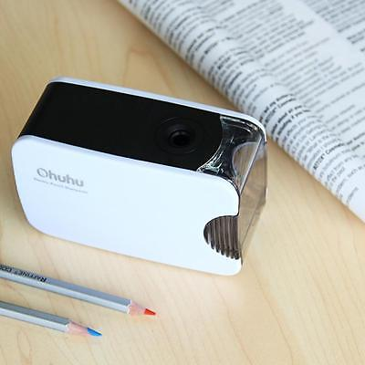 Personal Compact Electric Pencil Sharpener USB or Battery Power Home / Office