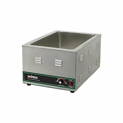 Electric Food Warmer/Cooker, 20 Inch x 12 Inch Opening, 1500W, 120V FW-S600