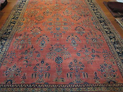 Antiker Perserteppich Saroogh 403 x 307 cm ANTIQUE CARPET, TAPPETO, TAPIS Nr.240