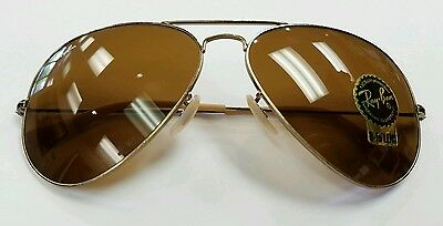 5e51c299c5 RAY-BAN RB3025 112 85 Aviator Gold Frame Brown Gradient 62mm Lens Sunglasses