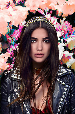Dua Lipa Poster 1 (4 Sizes A5-A4-A3-A2) Uk Seller With Free Uk P&P