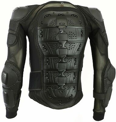 Speed Max Ce Spine Guard Body Armour Mens Motorbike Motorcycle Protection Jacket