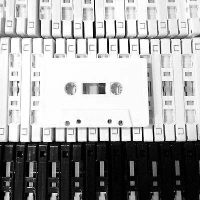 BRAND NEW CUSTOM LENGTH CASSETTE TAPES (BLANK) x20 FOR DIY BANDS AND LABELS