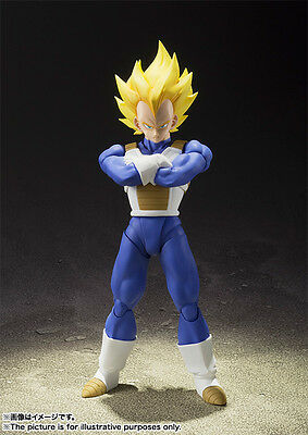 Bandai Tamashii SHF S.H. Figuarts Dragon Ball Z Super Saiyan Vegeta (IN STOCK)