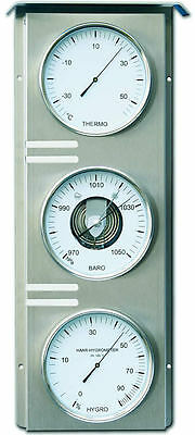 Fischer Weather station for outside Thermometer Barometer Hygrometer, 823-01-UK
